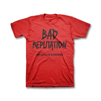 Joan Jett & The Blackhearts Bad Reputation Youth T-shirt - Red
