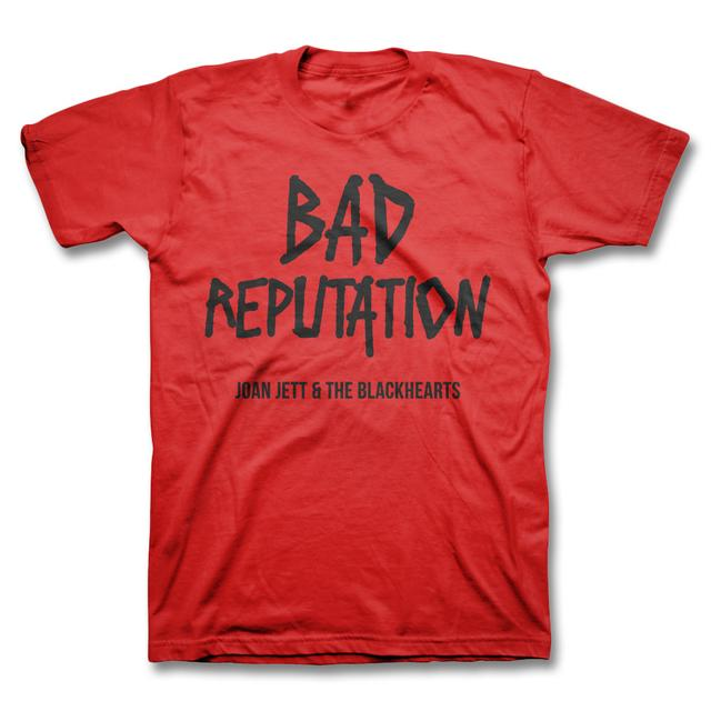 Joan Jett & The Blackhearts Bad Reputation Youth T-shirt - Red