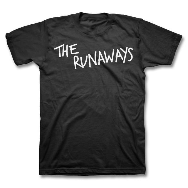 Joan Jett & The Blackhearts Vintage The Runaways Logo T-shirt - Black
