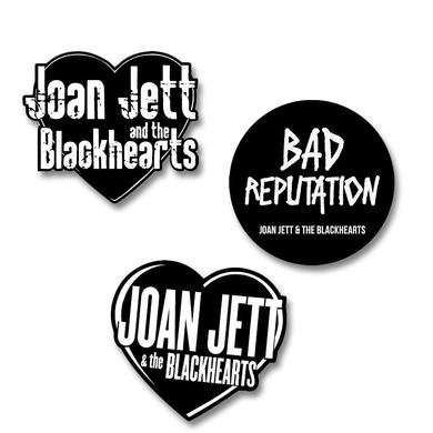 Joan Jett & The Blackhearts Logo Sticker Pack