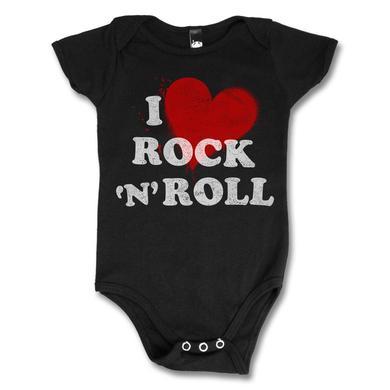 Joan Jett & The Blackhearts I Love Rock n' Roll Onesie - Black