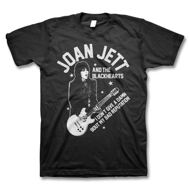 Joan Jett & The Blackhearts Bad Rep Guitar T-shirt