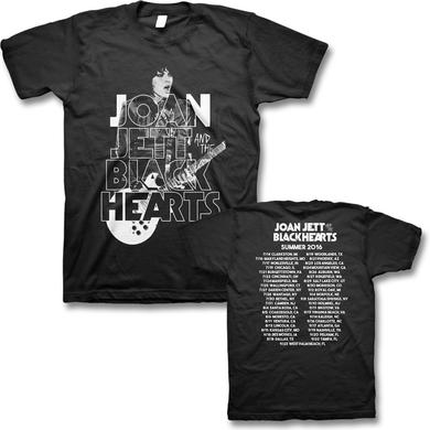 Joan Jett & The Blackhearts 2016 Retro Tour T-shirt