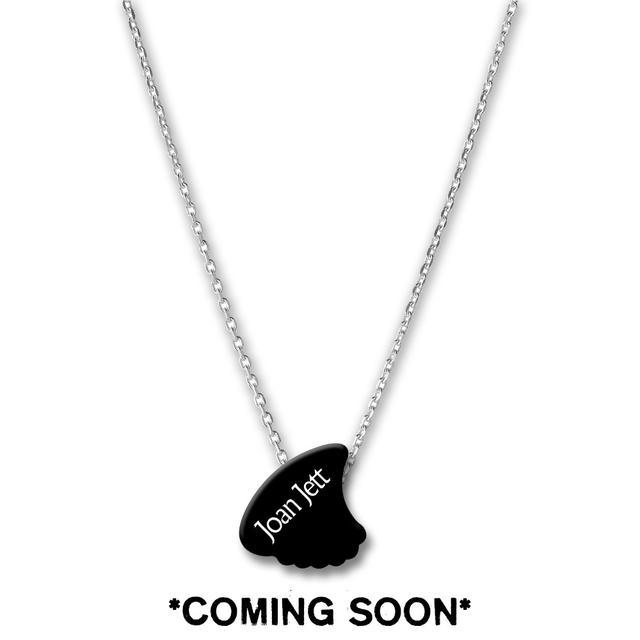 Joan Jett & The Blackhearts Shark Fin Pick Necklace