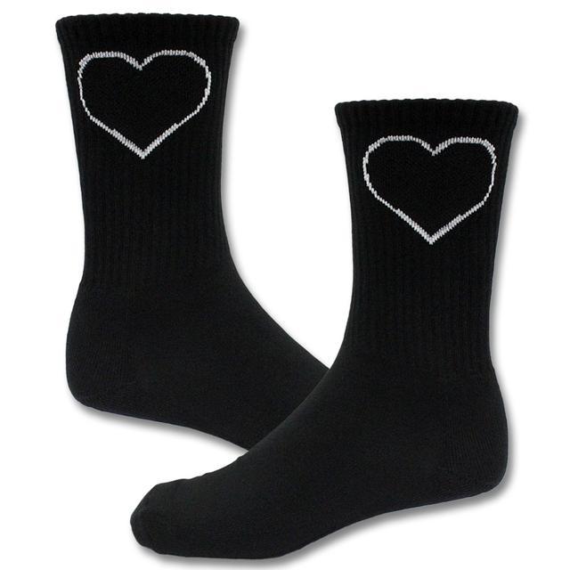 Joan Jett & The Blackhearts Blackheart Logo Socks