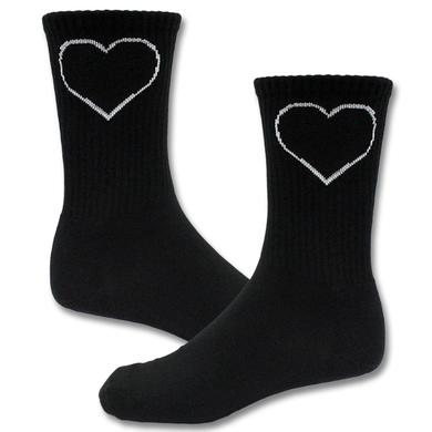Joan Jett & The Blackhearts Blackheart Logo Socks
