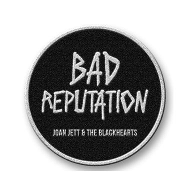 Joan Jett & The Blackhearts Embroidered Bad Reputation Patch