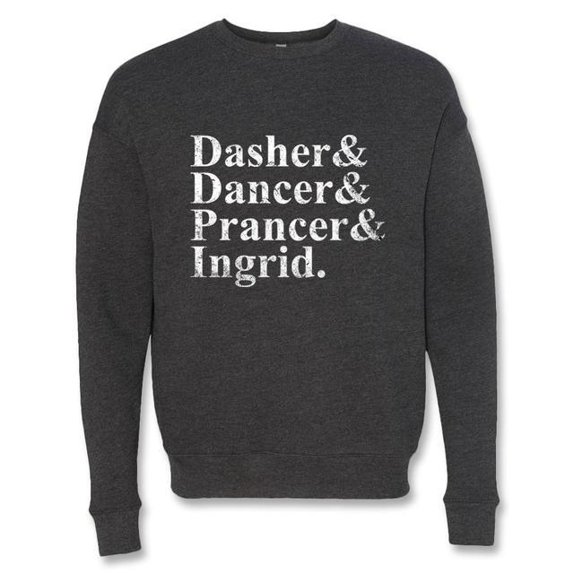 Ingrid Michaelson Reindeer Crewneck Sweatshirt