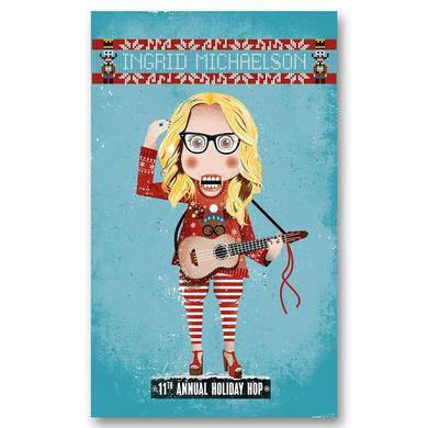 Ingrid Michaelson 2017 Holiday Hop Poster