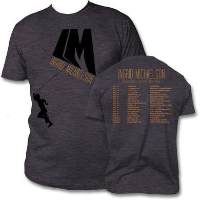 Ingrid Michaelson Human Again Summer 2012 Tour T-Shirt