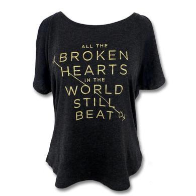 Ingrid Michaelson Broken Hearts Beat Dolman - Women's