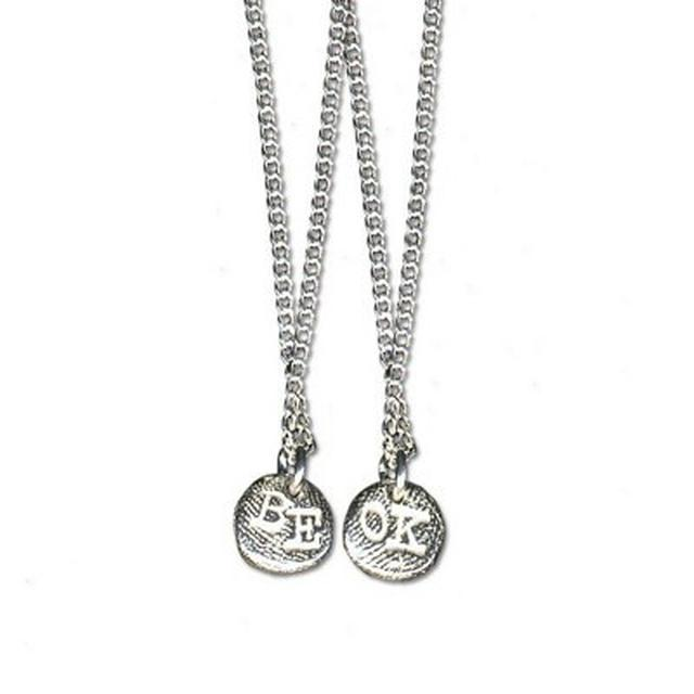 Ingrid Michaelson Be OK Silver Necklace