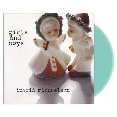Ingrid Michaelson Girls and Boys Vinyl LP (Blue)