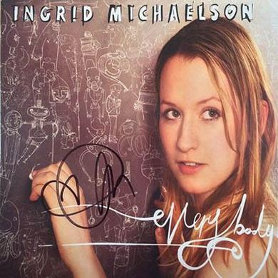 Ingrid Michaelson Signed Everybody CD