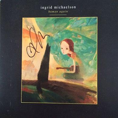 Ingrid Michaelson Signed Human Again CD