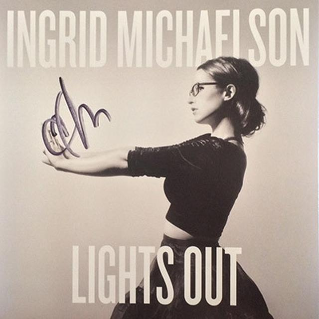 Ingrid Michaelson Signed Lights Out CD
