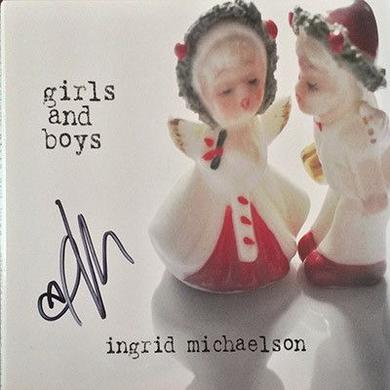 Ingrid Michaelson Signed Girls and Boys CD