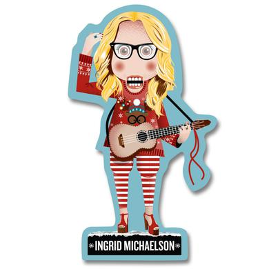 Ingrid Michaelson Nutcracker Sticker