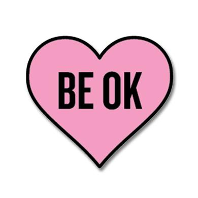 Ingrid Michaelson BE OK Enamel Pin