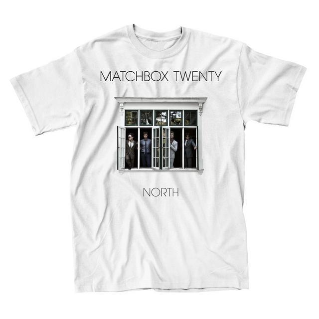 Matchbox 20 North Cover T-shirt