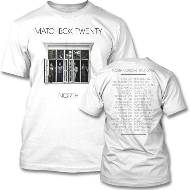Matchbox 20 North Cover US Tour T-shirt