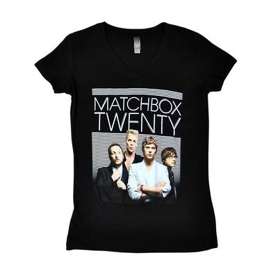 Matchbox 20 Lines Girl's V-Neck Tee