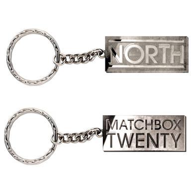 Matchbox 20 Pewter Reverse Keychain
