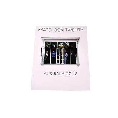 Matchbox 20 North Tour Program - Australia 2012