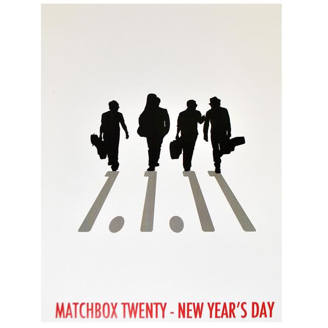 Matchbox 20 New Year's Day Poster - 1/1/2011