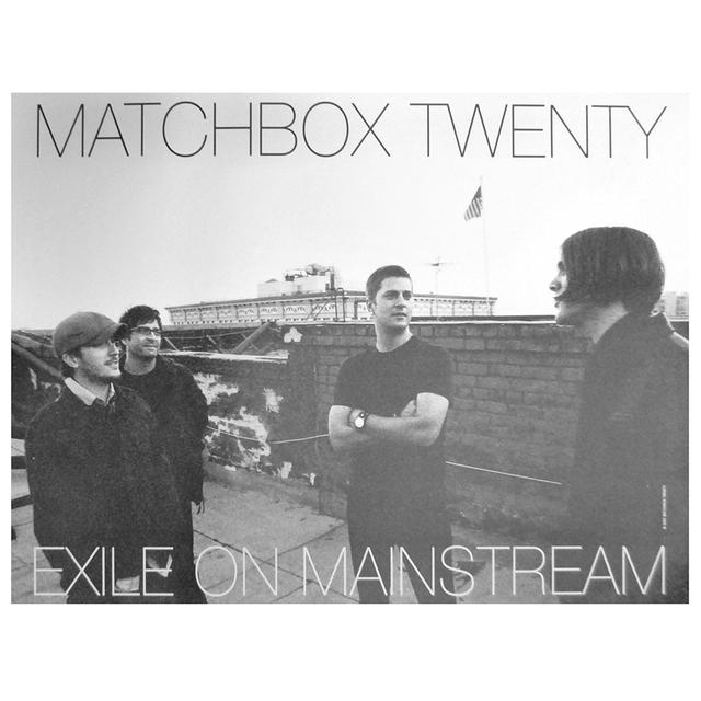 Matchbox 20 Exile On Mainstream Poster