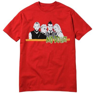 No Doubt Red Stripe Men's Tee