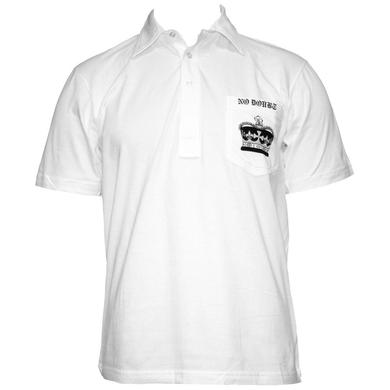 No Doubt Crown White Collared Shirt