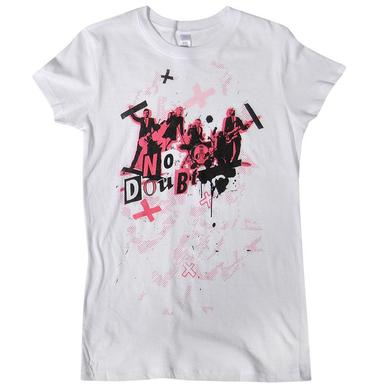 No Doubt Cut & Paste Ladies Tee