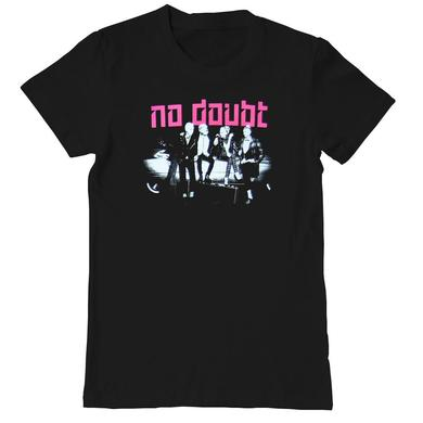 No Doubt Push and Shove Photo Ladies Tee