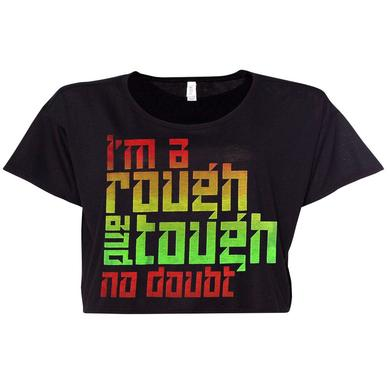 No Doubt Rough and Tough Ladies Cropped Top