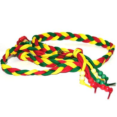 No Doubt Tri-Colored Braided Belt