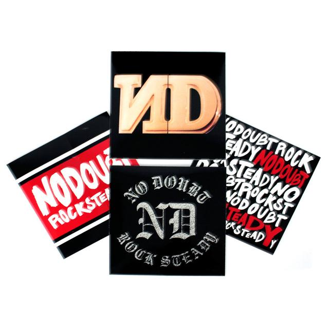 No Doubt Rock Steady Sticker Pack