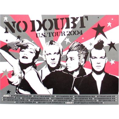 No Doubt 2004 US Tour Poster