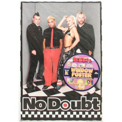 No Doubt Sticky Window Poster