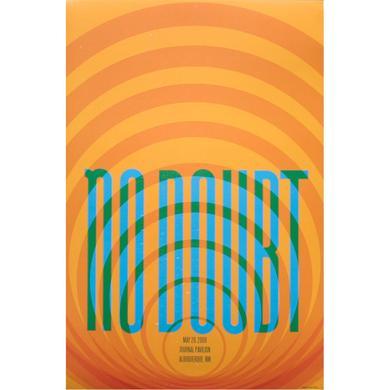 No Doubt Albuquerque Show Poster
