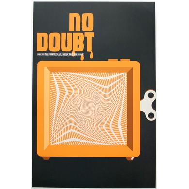 No Doubt Raleigh Show Poster