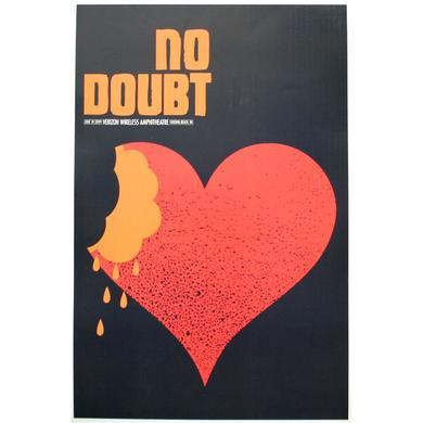 No Doubt Virginia Beach Show Poster