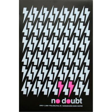 No Doubt Philadelphia Show Poster