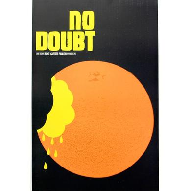 No Doubt Pittsburgh Show Poster