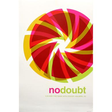 No Doubt Holmdel Show Poster
