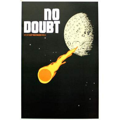 No Doubt Concord Show Poster