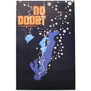 No Doubt Santa Barbara Show Poster