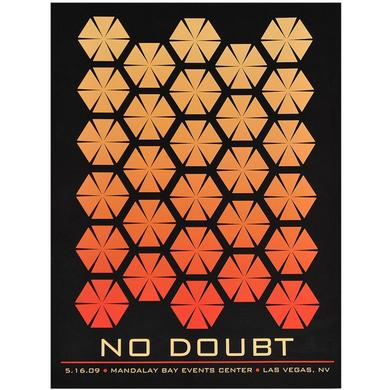 No Doubt Las Vegas Show Poster