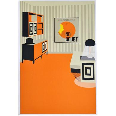 No Doubt Montreal Show Poster