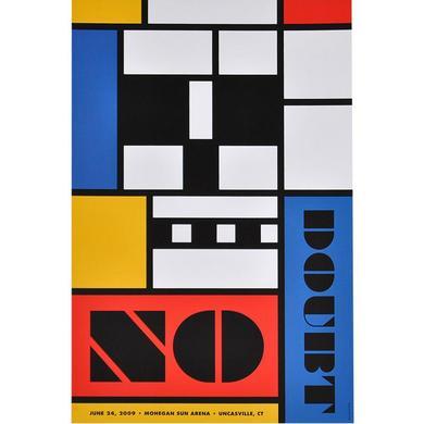 No Doubt Uncasville Show Poster